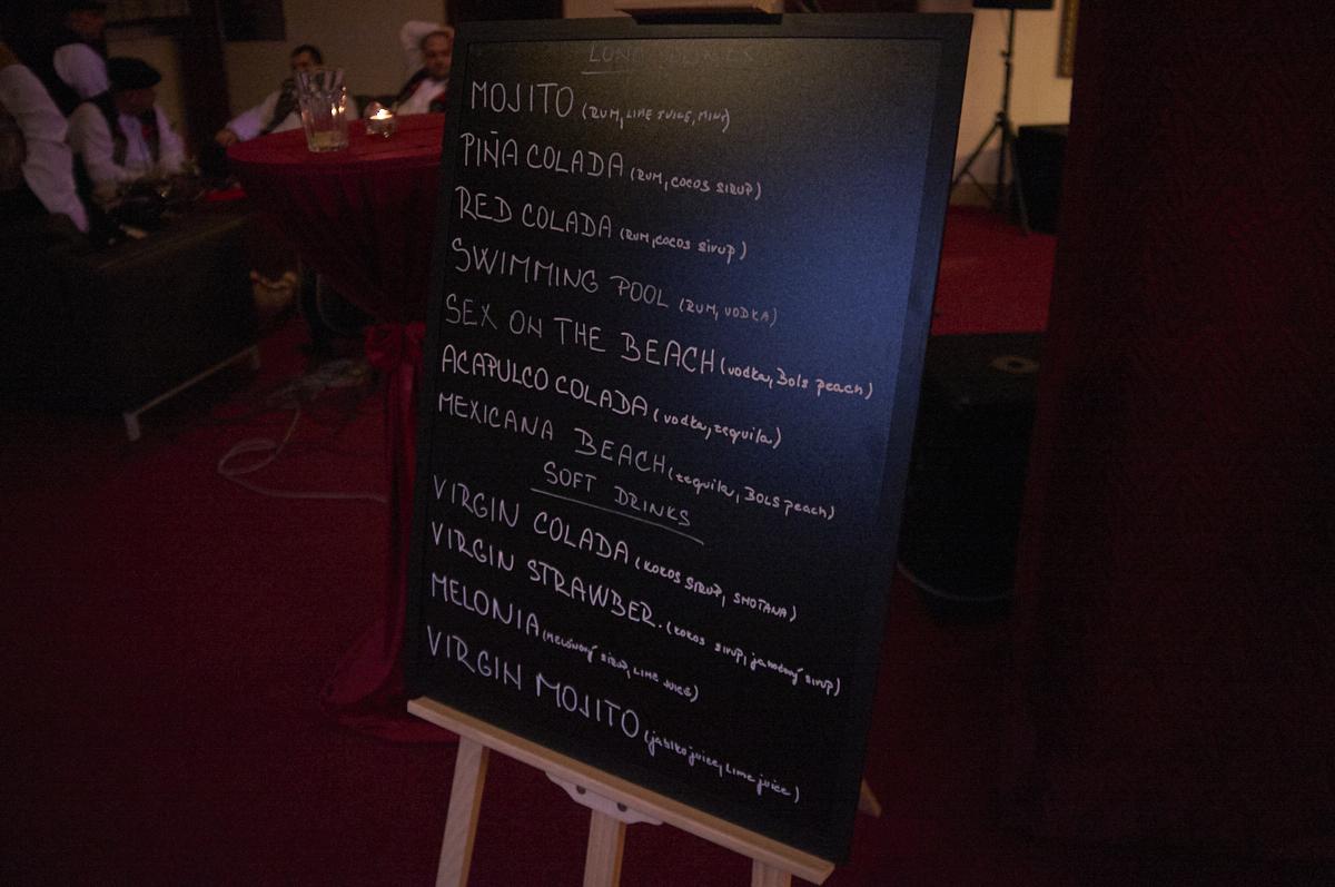 Organizácia Eventov - cocktail bar